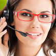 Support phone operator in headset