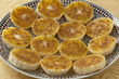 Moroccan orange slices with sugar and cinnamon