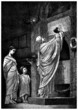 Martyrs Family in Catacombs - Ancient Rome