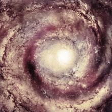 Centre de la galaxie - éléments de cette image fournie par la NASA