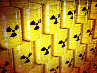 radioactive barrel