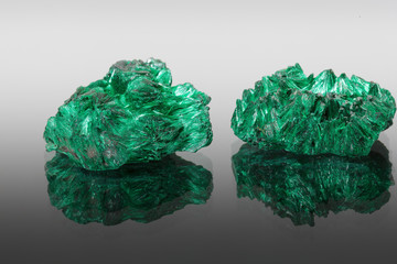 Two malachite minerals