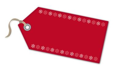 Geschenkanhänger Weihnachten Sterne - Vektor