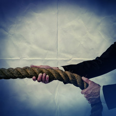 rope tug paper backdrop