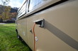 Постер, плакат: vw transporter classic camping van