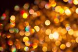 Fototapety Gold Festive Christmas background. Elegant abstract background w
