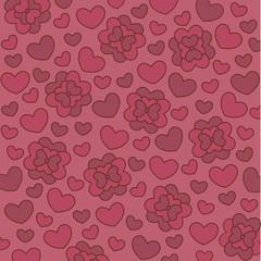 rosa herzchen