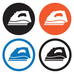 Steam iron icons