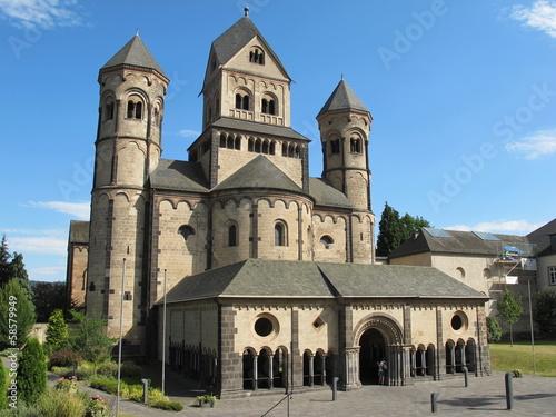 Leinwanddruck Bild Klosterkirche Maria Laach(Eifel)