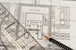 Bauplan, Zeichnung, Architekt, Konstruktion, Präzision, Plan