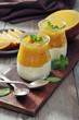 Yogurt with mango