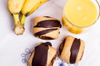 Neapolitan chocolate and fruit
