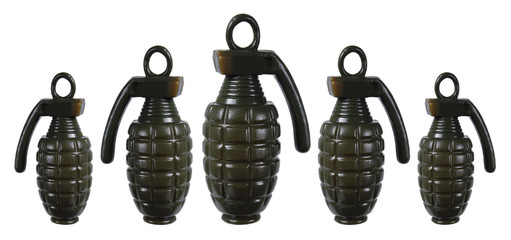 Toy Hand Grenades