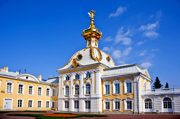 The Grand Palace, Peterhof, Russia