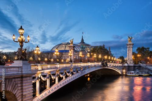Papiers peints Pont Paris - Pont Alexandre III