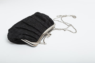 shoulder clutch back isolated