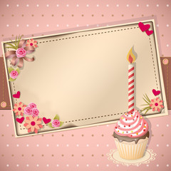 congratulation scrapbooking card