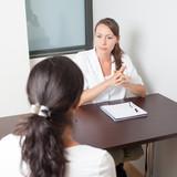 Besuch bei Frauenarzt