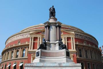 Royal Albert Hall in London, UK