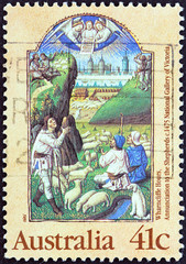 Annunciation to the Shepherds (Australia 1989)