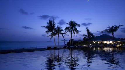 Maldives pool travel hotel