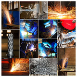 Metallindustrie - Collage
