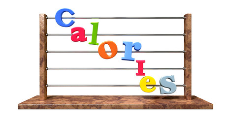 Calorie Counting Abacus