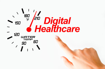 Digital healthcare concept