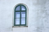 Window in Marianka monastery - the pilgrimage site, Slovakia