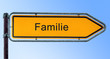 Strassenschild 6 - Familie