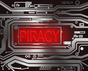 Piracy concept.