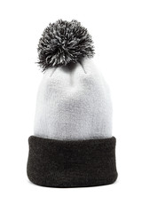 Cold winter clothing - hat or cap.