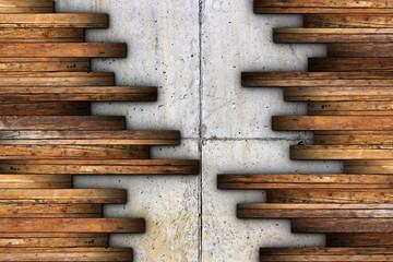 mahogany ancient floor