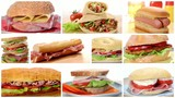 sandwiches collage