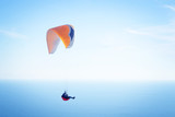 paraglider in sky