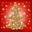 Mechanical Christmas tree