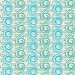 vertical pattern with swirls