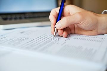 tax form analyzing