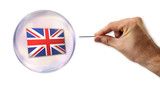 The United Kingdom economic bubble about to be exploited