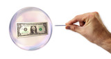 Dollar economic Bubble about to explode by a needle