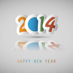 New Year Background - 2014
