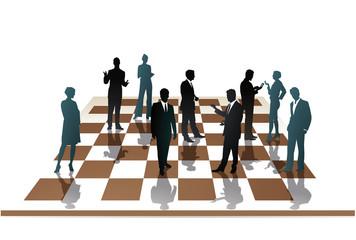 Mitarbeiter Schach