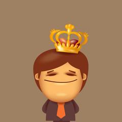 King. Vector format