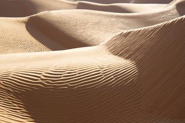 Paysage de dunes, Grand erg oriental, Tunisie