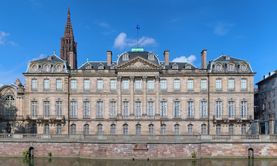 The Palais Rohan in Strasbourg, France