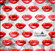 modern lips background
