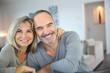Leinwanddruck Bild - Cheerful senior couple enjoying life