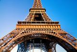 Fototapeta Eiffel Tower middle section, Paris, France