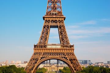 Eiffel Tower middle section, Paris, France