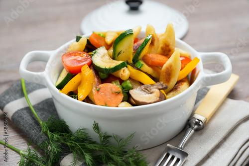 Schupfnudel-Gemüse-Pfanne